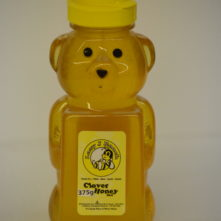 Clover Honey Bear 375g